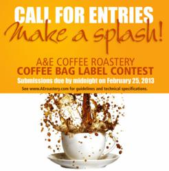 A&E Coffee - Label Art Contest - Call for Entries