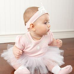 """Big Dreamzzz Baby Princess"" Three-Piece Layette Set"