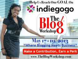 Help The Blog Workshop educate bloggers, support them on Indiegogo!