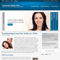 University Dental Arts New Website