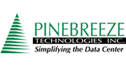 The corporate logo of Pinebreeze Technologies, the newest Certified Solution Provider of the Cormant-CS DCIM solution