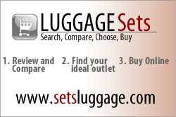 Discount luggage sets - Over 300 sets