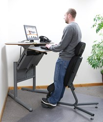 The new Stance Move Angle chair from HealthPostures
