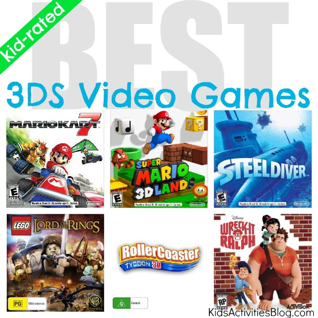 Free Home Design Create Play Educational Quiz Games: Best 3DS Games, A Laundry List Of Favorite Video Games And