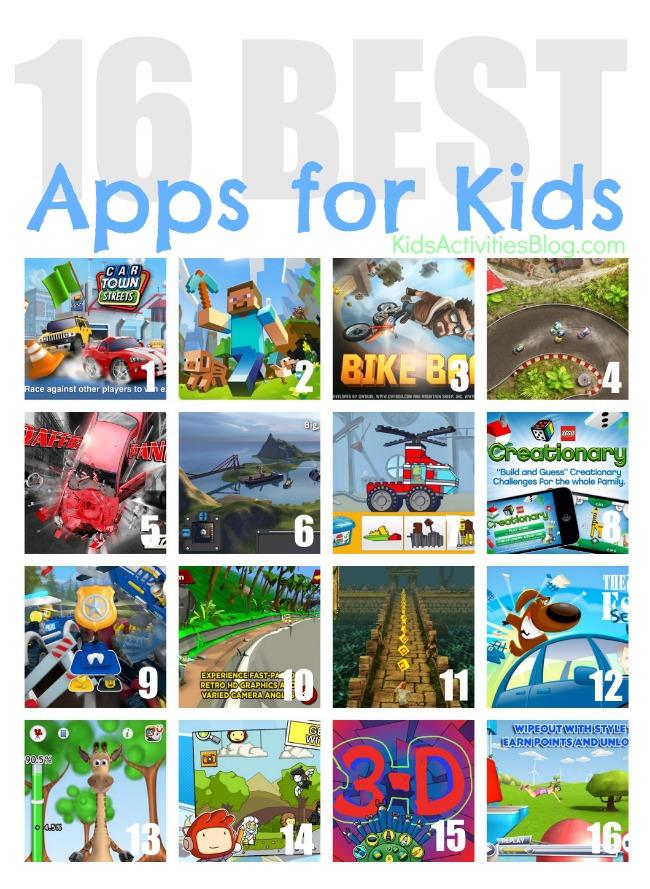 lists best apps kids