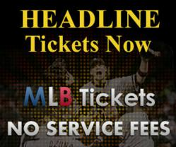 2013 MLB Tickets at headlinetickets.com