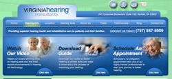 audiologist in Norfolk VA - Virginia Hearing Consultants website
