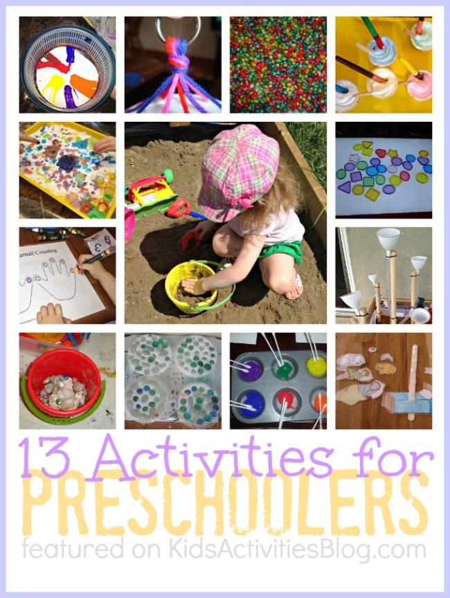 13 Fun Activities For Preschoolers And Educational Preschool
