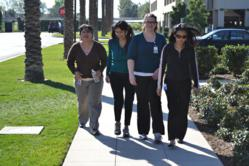 Morgan Drexen workers walk for wellness
