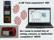 RF temperature monitoring technology
