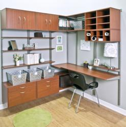 Organized Living freedomRail Home Office