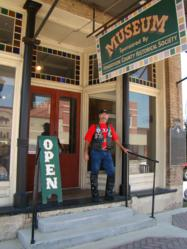 Listed on the National Register of Historic Places and as a Texas Historic Landmark with the Texas Historical Commission, the two story museum continues to emulate a dry goods store and a re-creation of an early law office, parlor, and schoolroom.