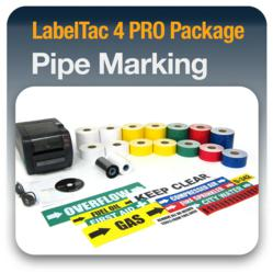 LabelTac 4 PRO Pipe Marking Package