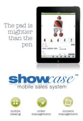 Showcase Mobile Sales System for iPad by Logic Solutions