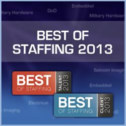 Best of Staffing 2013