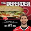 "Harris Teeter Unveils Carolina Hurricane Jay Harrison's ""The Defender""..."