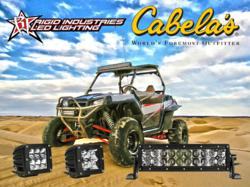 Cabelas launches Rigid Industries LED Lighting product lines