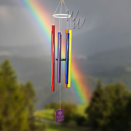 Whimsical Winds Wind Chimes Tune Into Positive Energy With Grace