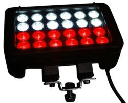 Red and White Combination LED Light Bar