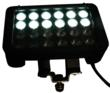 LEDLB-24E-VISRED Combination LED Light Bar with White LED row Illuminated