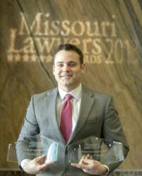 St. Louis Injury Attorney Joshua P. Myers Named As Missouri's Winningest Trial Attorney