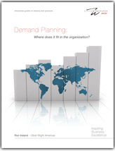 Ronald Ireland, Demand Planning