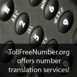 TollFreeNumber.org gets into number translation services.