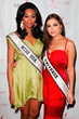 Reigning Miss USA Nana Meriwether and Reigning Miss Olivia Culpo pose at the Date for the Cure Gala To Benefit Susan G. Komen LA County on February 16, 2013 in Universal City, California.