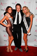 Reigning Miss California USA Mabelynn Capeluj, Actor & Comedian Kevin Nealon, Reigning Miss California Teen USA Cassidy Wolf pose at the Date for the Cure Gala To Benefit Susan G. Komen LA County.
