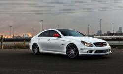 Nyjah Huston's CLS 63 with Vossen CV4 Concave Wheels