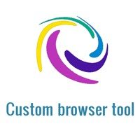Custom browser tool