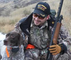 Join Rory Dunn, a Purple Heart recipient, for a South Dakota pheasant hunt at Thunderstik Lodge