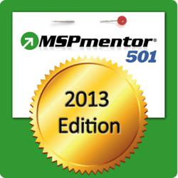 MSPmentor 501 2013 Honoree Logo