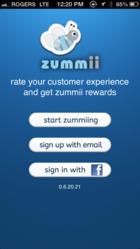 zummii-customer experience app.
