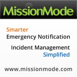 MissionMode Solutions, creator of industry-leading emergency notification and incident management software.