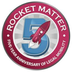 Rocket Matter Celebrates Five Years of Legal Practice Management Software