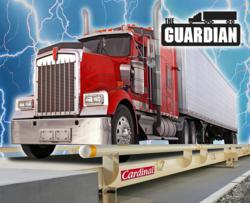 Cardinal Scale's Guardian Hydraulic Truck Scales