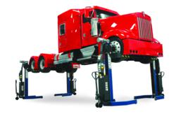 wireless lifts lifting diesel truck