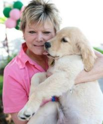 Beth Harrison, ABC Certified Dog Trainer, class instructor.