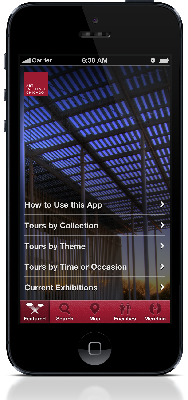 Art Institute Of Chicago Becomes First Art Museum To Offer Tours - Chicago map app