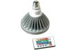 Dimming LED PAR38 Bulb with Color Changing Options