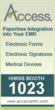Access to Showcase Updated E-Forms, Electronic Patient Signature and...