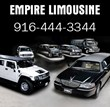 Escalade Limo Rental in Sacramento by Empire Limousine