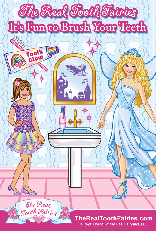 the real tooth fairies promote oral care with how to brush webisode. Black Bedroom Furniture Sets. Home Design Ideas