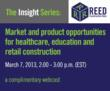 New Reed Insight Series Webcast
