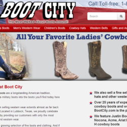 Boot City - new responsive home page