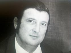 Alan Burford, Simon's father, who died of Metastatic Bone Cancer in 2011