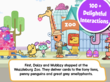 Wubbzy Loves You app has over 100 interactions