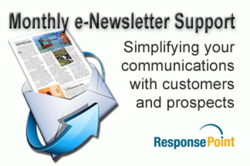Monthly newsletter support