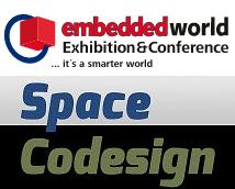 ESL tool for SoC design for embedded system presented in Embedded World 2013 by Space Codesign